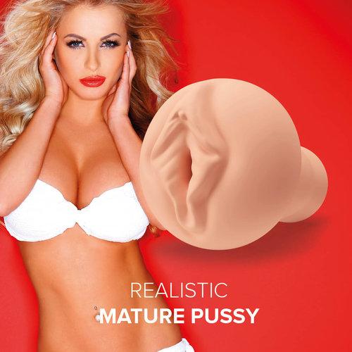 SHAKE Masturbator Realistic Mature Pussy