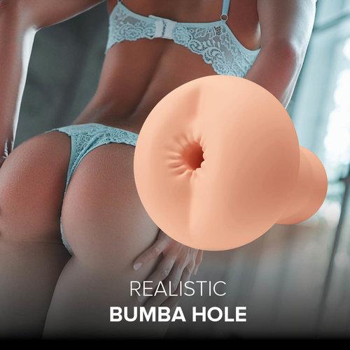 SHAKE Masturbator Realistic Bumba Hole