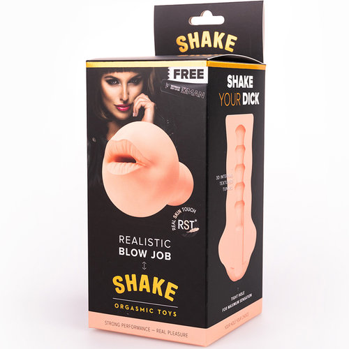 SHAKE Masturbator Realistic Blow Job