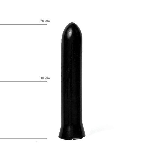 All Black anaal Dildo 22 x 5cm