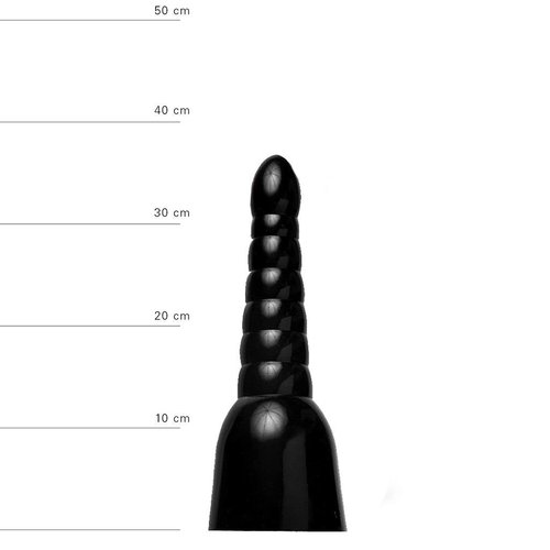 All Black anaal Dildo 34 x 11cm