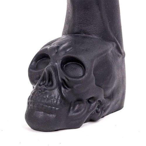 Keep Burning Cock Skull Dildo  28.5 x 6.5cm