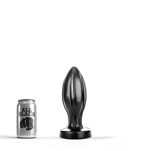 All Black Butt Plug 23 x 8.1cm