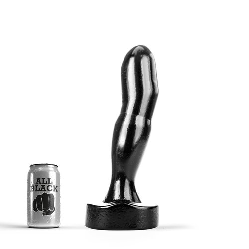 All Black Giant Butt Plug 33 x 7.2cm