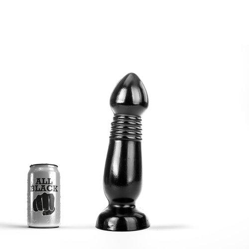 All Black Riesen Butt Plug 29 x 7.6cm