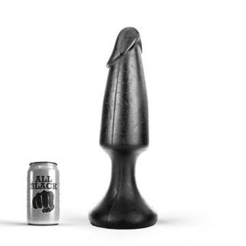 All Black Giant Buttplug 35 x 9 cm
