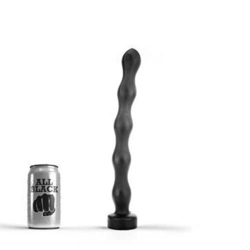 All Black Anal Perlen 32 x 3,5 cm