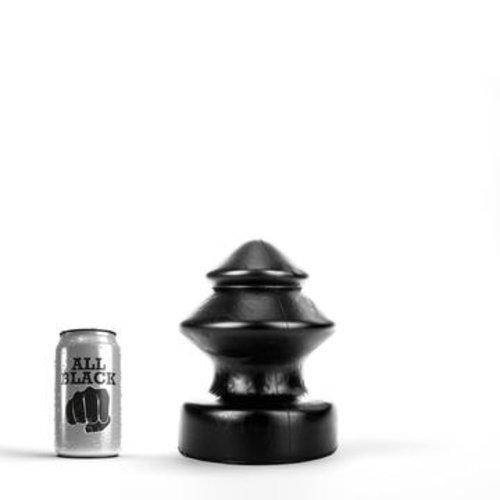 All Black Riesen Butt Plug 19 x 14,5cm