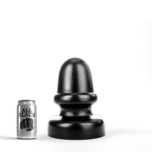 All Black Riesen Butt Plug 23 x 13,5 cm