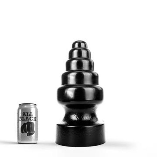 All Black Giant Butt Plug 27 x 13,5cm