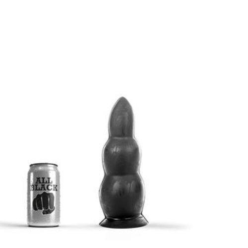 All Black Butt Plug 23 x 8 cm