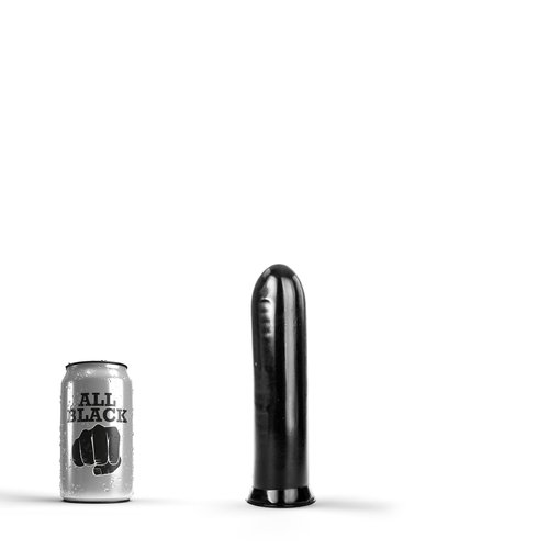 All Black Anal Dildo 19 x 4,5cm