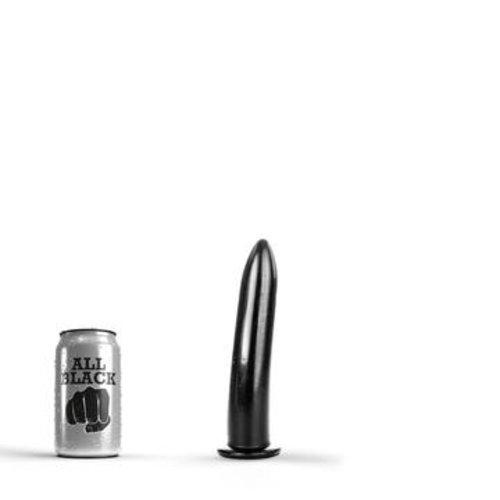 All Black Anal Dildo 19 x 3,5 cm