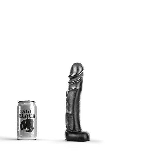 All Black Klassischer Dildo 22 x 4,5cm