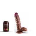 Heroes Dildo Floyd with suction cup 22 x 5cm