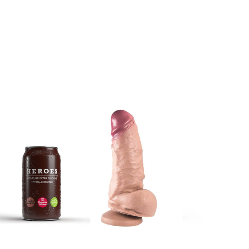 Heroes Dildo Harry with suction cup 16 x 5.5cm
