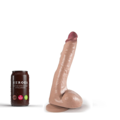 Dildo Logan with suction cup 23 x 4.5cm