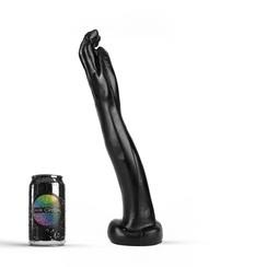 Schwarz Giant Fist Dildo 36,5 x 6cm