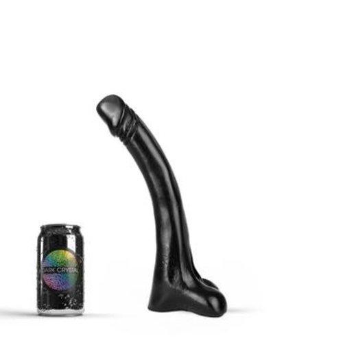 Dark Crystal Black Giant Dildo 30 x 3.8cm