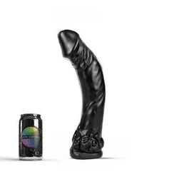 Schwarzer Riesen-Dildo XXL 35 x 7cm