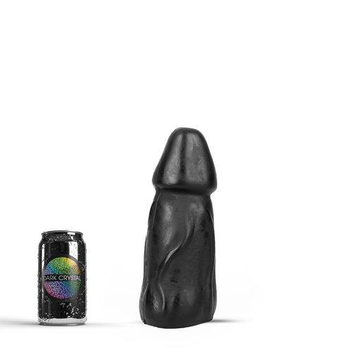 Dark Crystal Black Giant Anaal Dildo 25 x 9,5cm