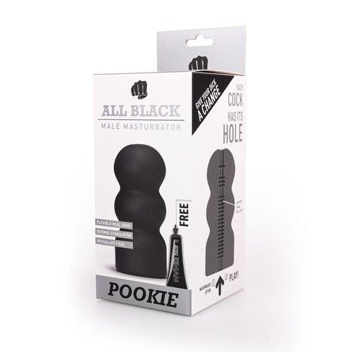 All Black Masturbator Pookie
