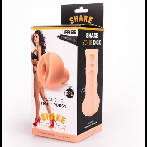 SHAKE Masturbator Realistic Tight Pussy