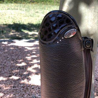 De Niro Boot DE NIRO SALENTINO Quick leather bruin (reliëf leder)