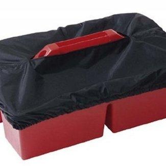 PFIFF PFIFF overtrekhoes voor open poetsbakken zwart
