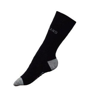 KINGSLAND KINGSLAND Bleuberg unisex woolmix socks navy