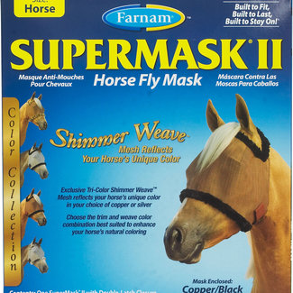 FARNAM FARNAM supermask 2 horse copper/black