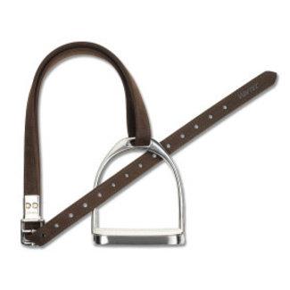 wintec WINTEC pros/leather STD 147 cm BROWN