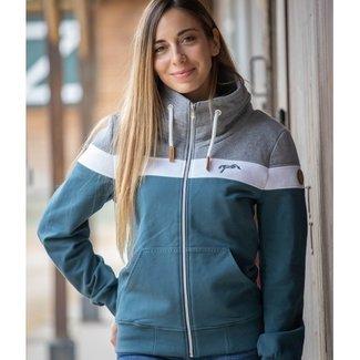PENELOPE LEPREVOST PENELOPE native zipped sweater