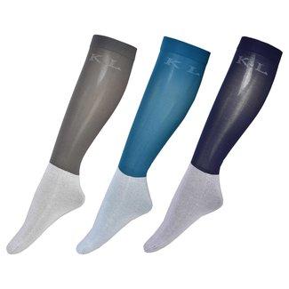 KINGSLAND KINGSLAND letizia unisex show socks 3 pack