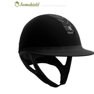 SAMSHIELD Samshield miss shield helm gepersonaliseerd M