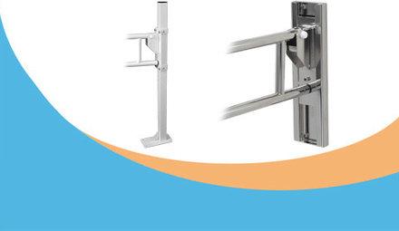 Hoogte instelsystemen toiletbeugels