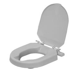 Toiletverhoger vast met deksel 6cm