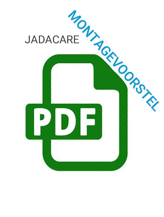 Montagevoorstel JadaCare