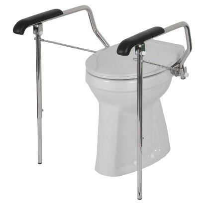 Toiletbeugelset met steunpoten | special 40