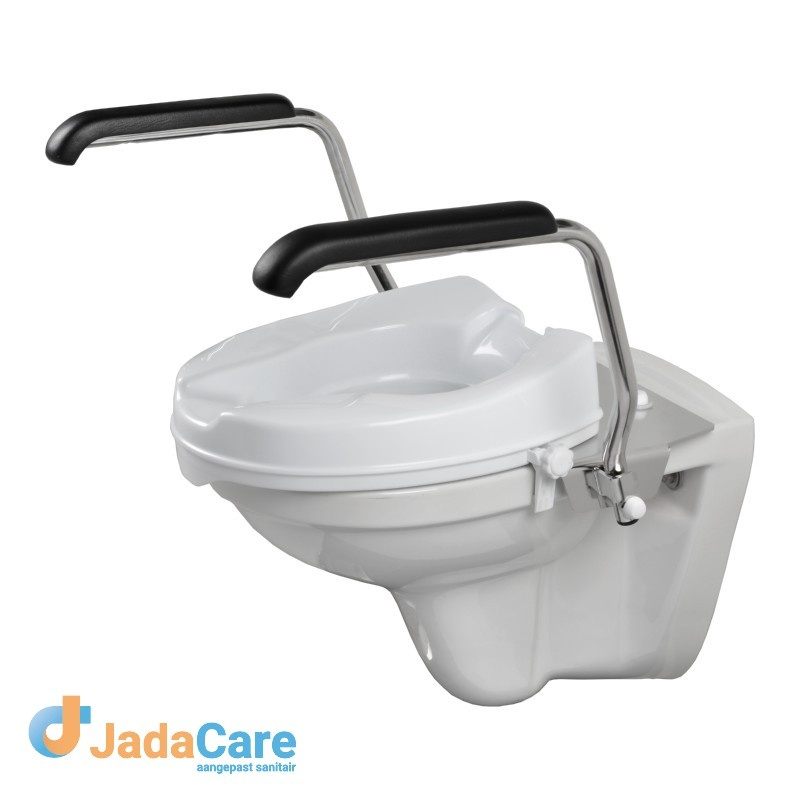 Toiletbeugelset inclusief verhoger 5 cm