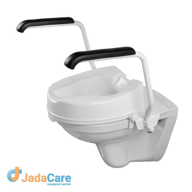 Toiletbeugelset inclusief losse verhoger 10 cm