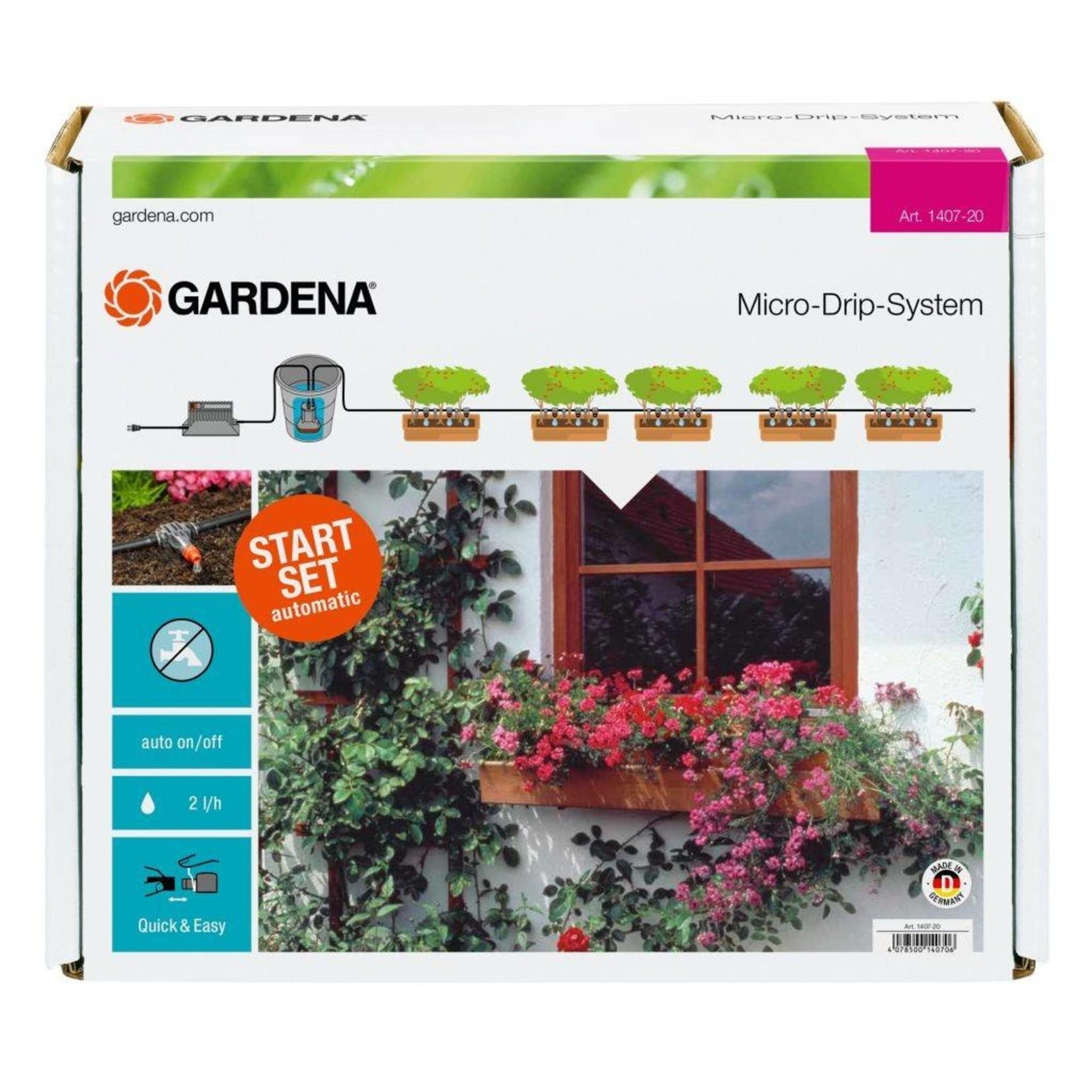 Gardena Gardena automatische Bloembakbesproeiingsset