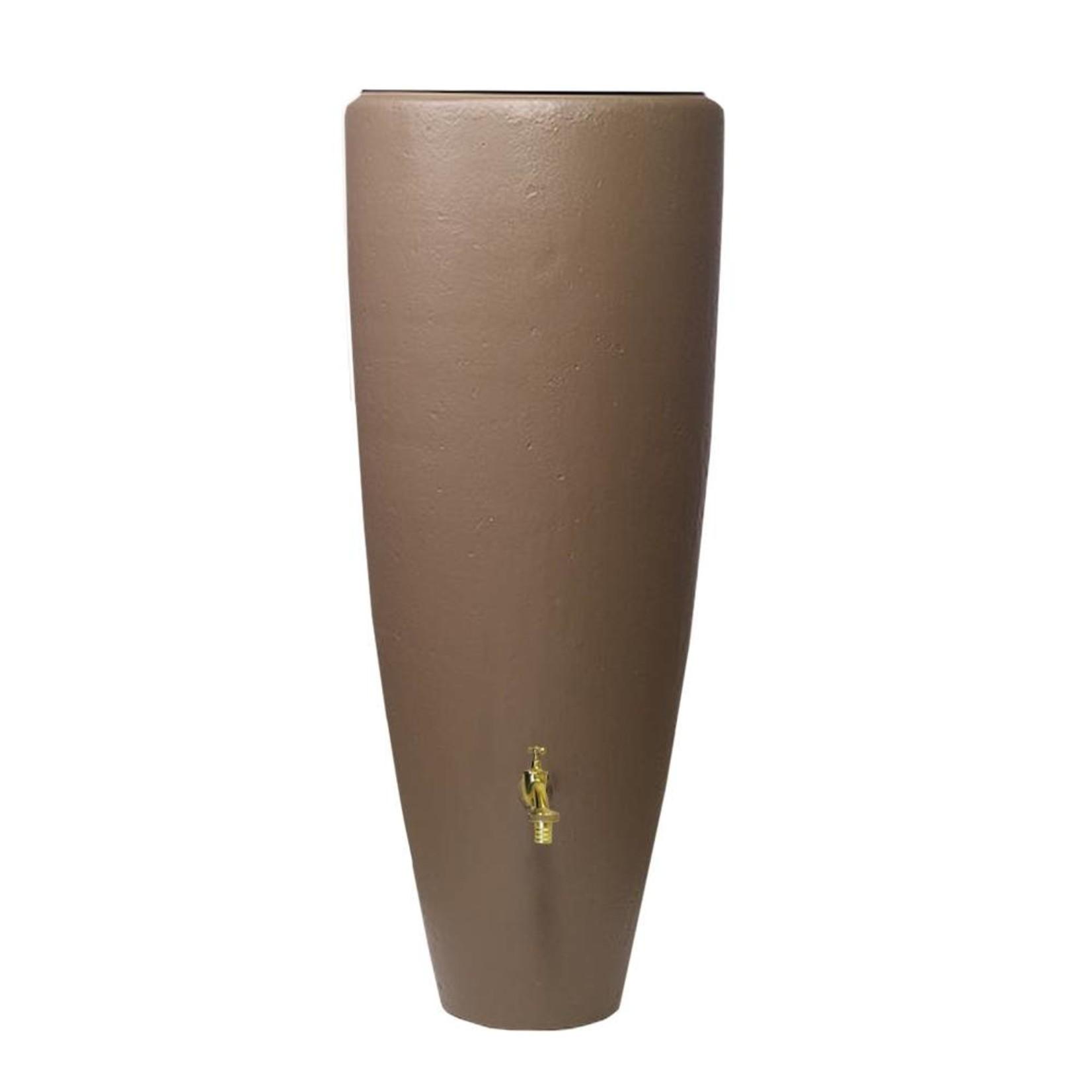 Garantia VASO 2-in-1 regenton en plantenbak 300 ltr taupe