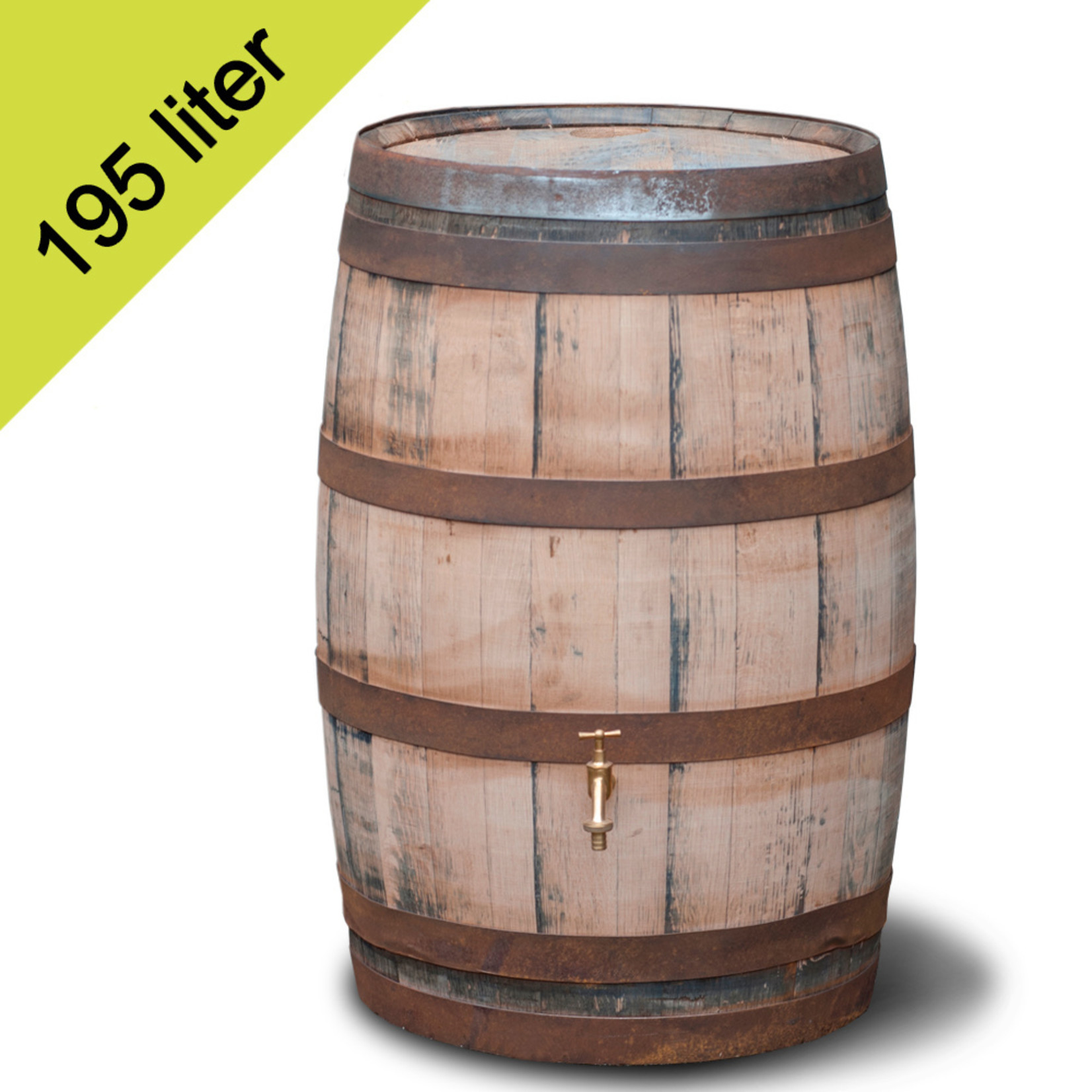 Ton Whiskey 195 liter hergebruik GESCHUURD