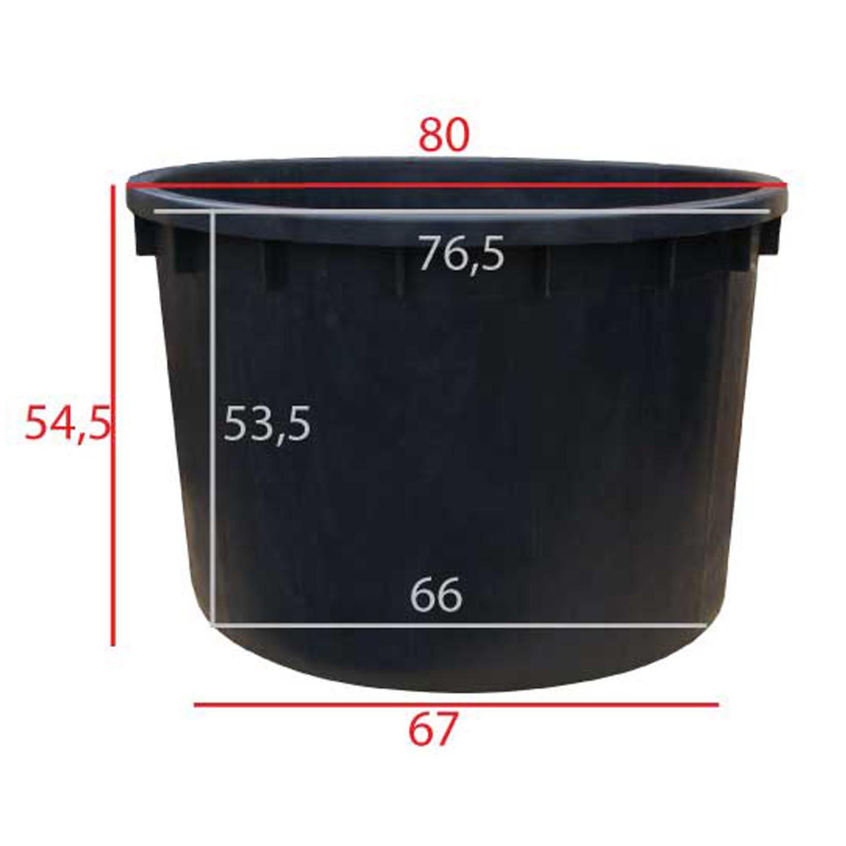 Boomkuip 210 liter Ø 80 x h.55 cm