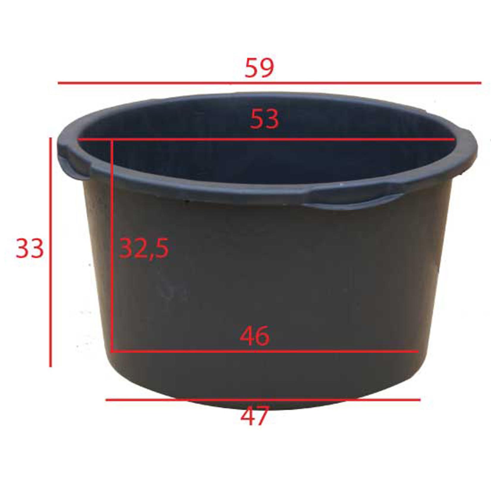 Kuip 65 liter Ø 60 x h.35 cm