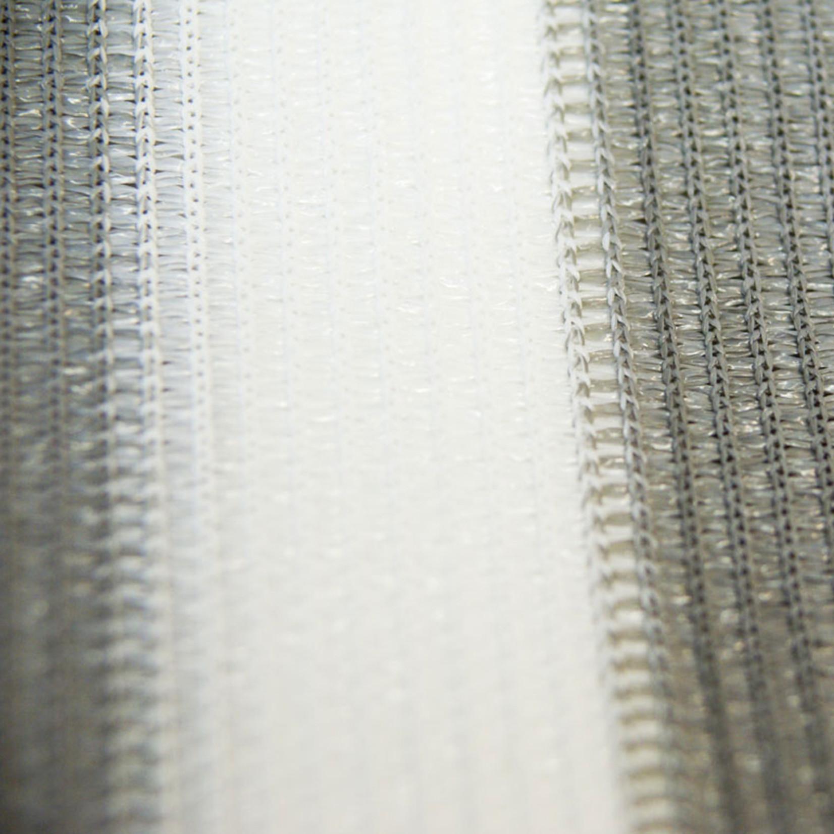 Balkondoek 0,9 x 5 mtr grijs/wit