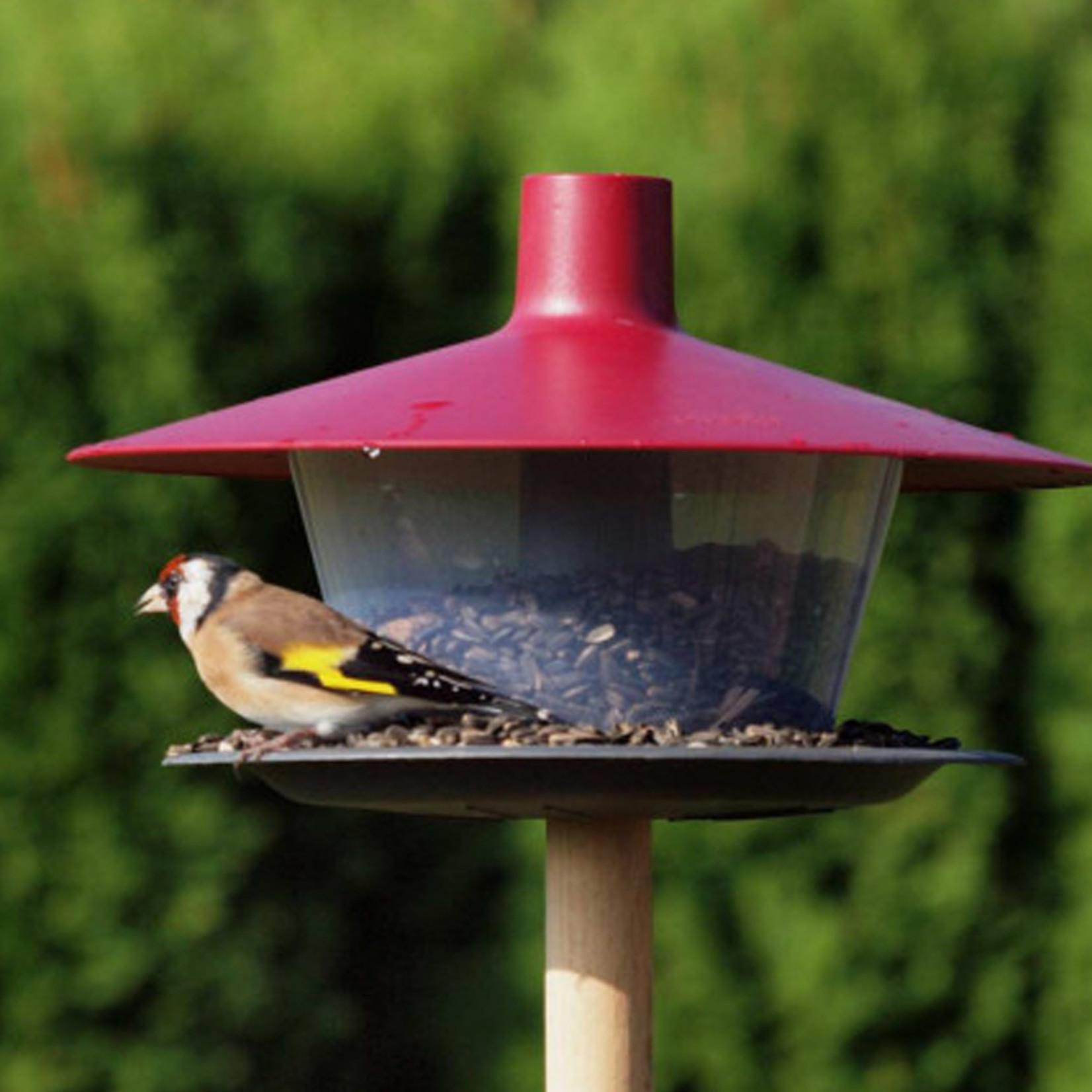 Voederhuis Finch Antraciet