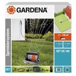 Gardena Gardena complete set met verzonken zwenksproeier OS 140