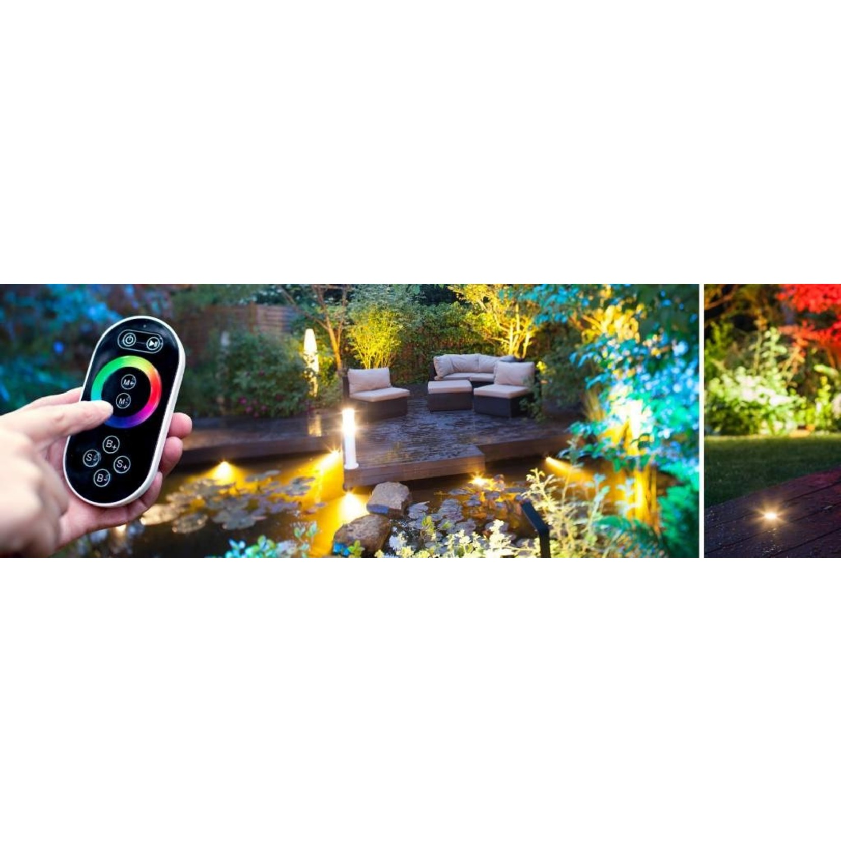 Heissner Smart Light RGB controller met afstandsbediening